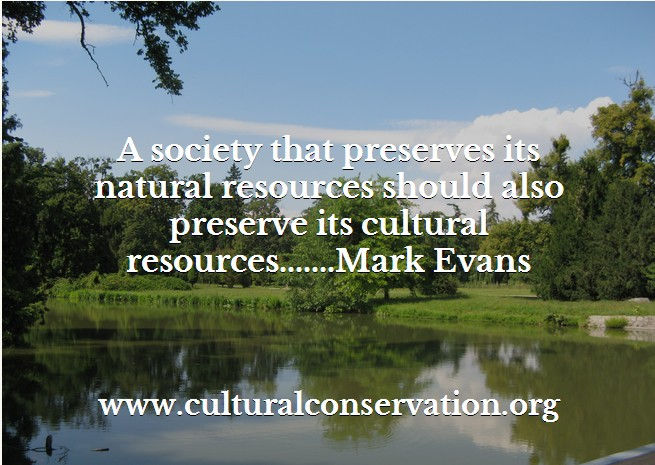 Preserving Our Cultural Resources As National Treasures